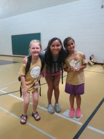 7-8 Girl's camper of the week and runner-up with Asia, their college counselor