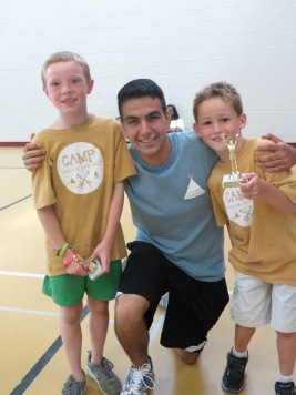 7-8 Boy's camper of the week and runner-up with Neema, their college counselor
